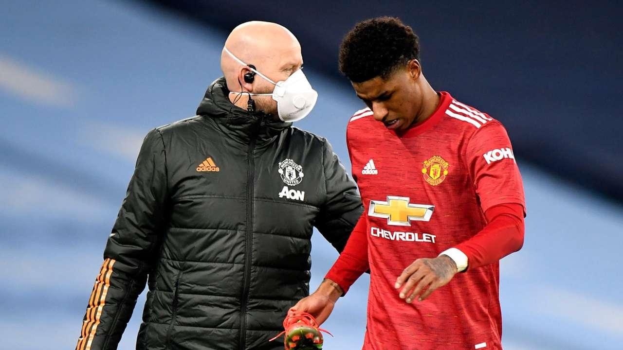 Rashford injury Manchester United 2021