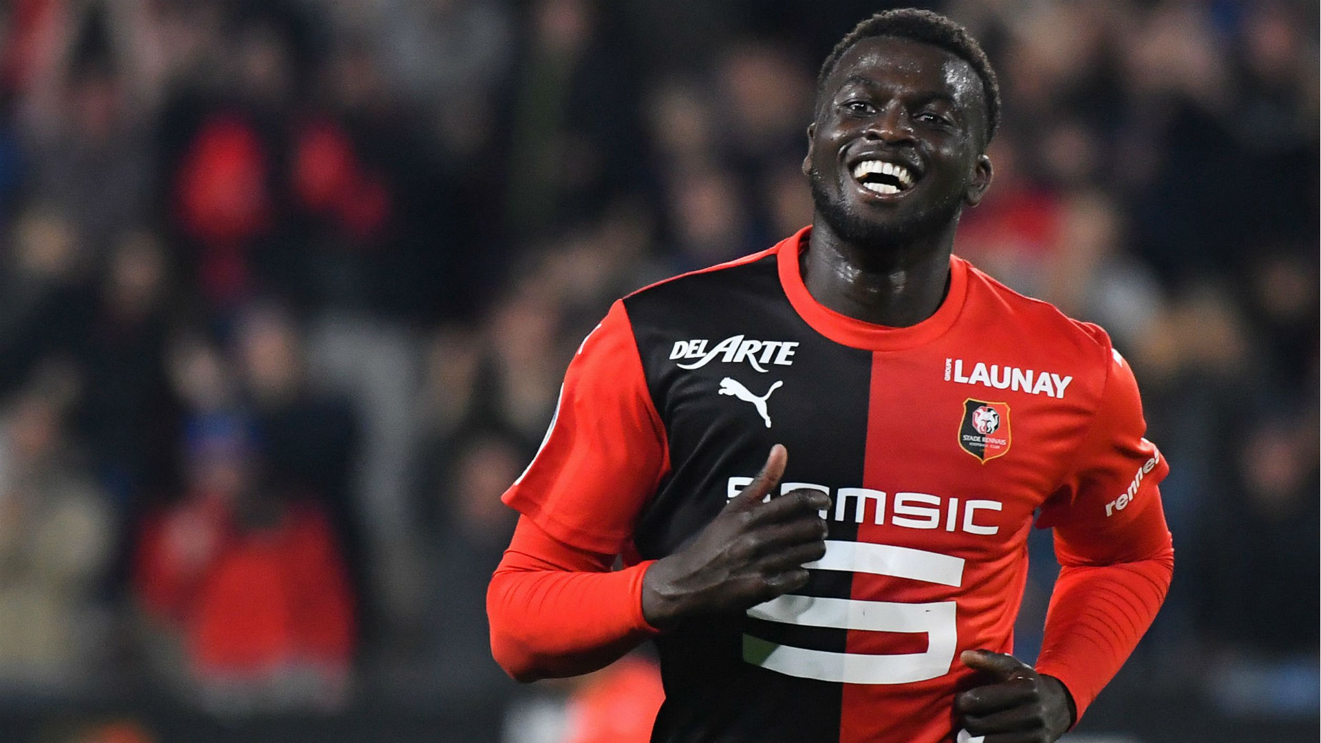 Niang, Thioub and Bahoken score in Rennes' nine-goal thriller against Angers
