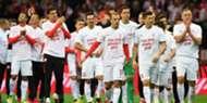 Poland players celebrating Poland Montenegro WC Qualification