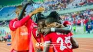 Francis Kahata scores for Simba SC.