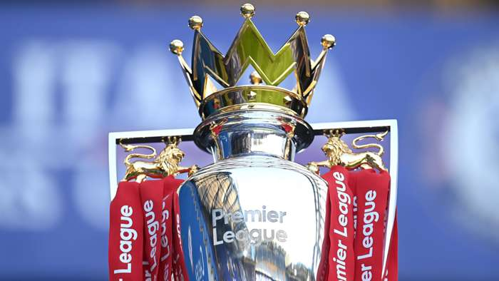 Premier League trophy 2020