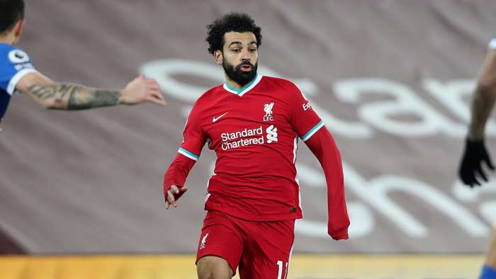 Mohamed Salah, Liverpool vs Brighton, Premier League 2020-21