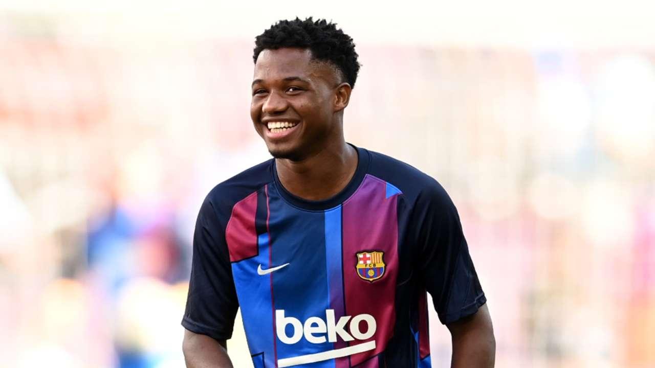 Ansu Fati Barcelona 2021-22