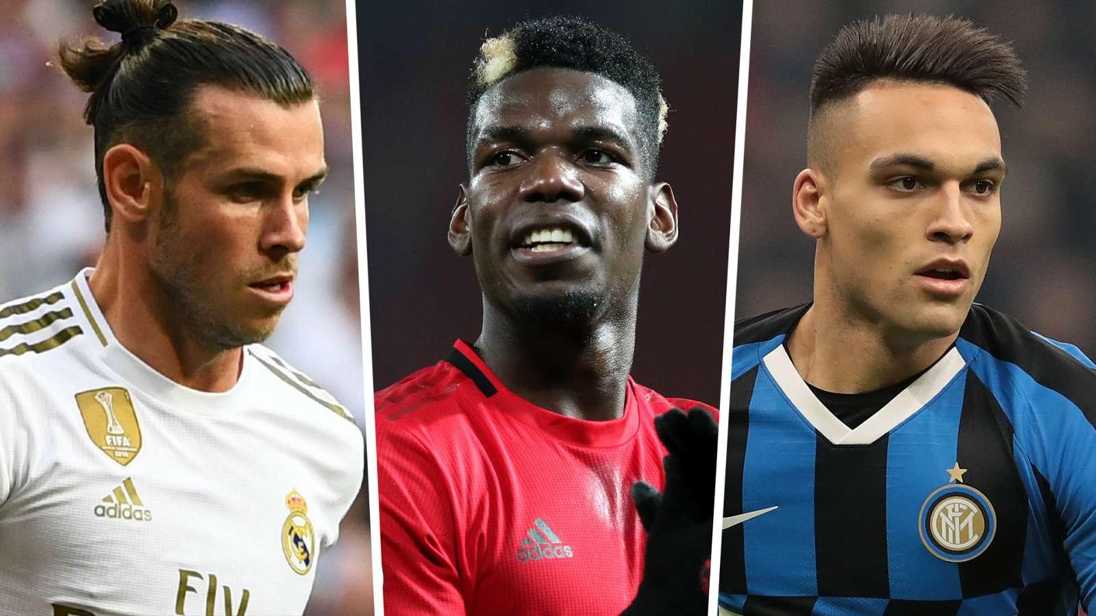 Gareth Bale Paul Pogba Lautaro Martinez 2019-20