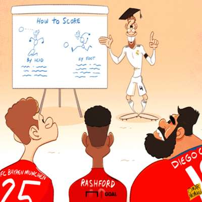 Sergio Ramos Cartoon