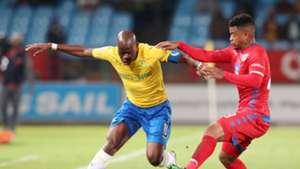 Mamelodi Sundowns v SuperSport United Hlompho Kekana and George Lebese, April 2019