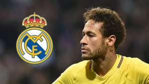 Neymar Real Madrid GFX