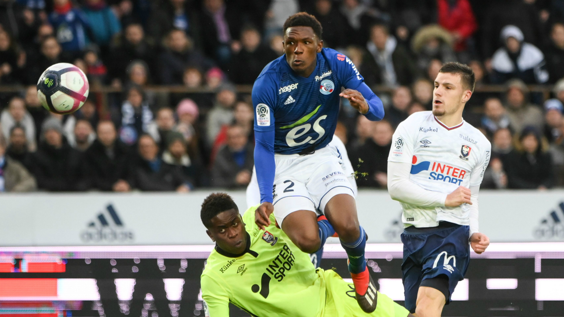 Strasbourg star Mothiba ruled out until 2021 with knee injury