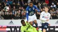 Lebo Mothiba, Strasbourg  vs. Caen