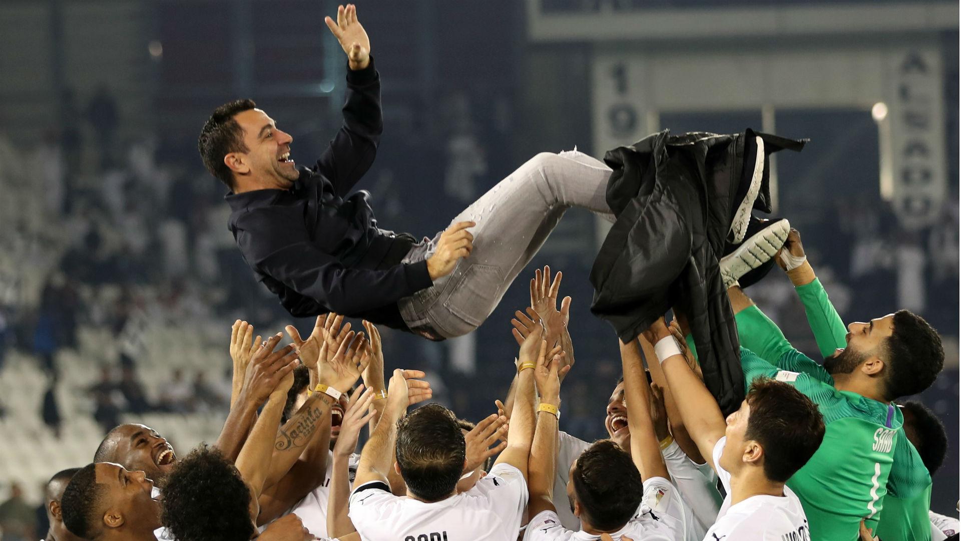 Qatar - Xavi remporte un second trophée avec Al Sadd, face à Mandzukic |  Goal.com