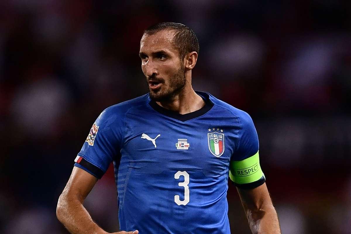 Giorgio Chiellini: Juventus defender earns 100th Italy cap | Goal.com