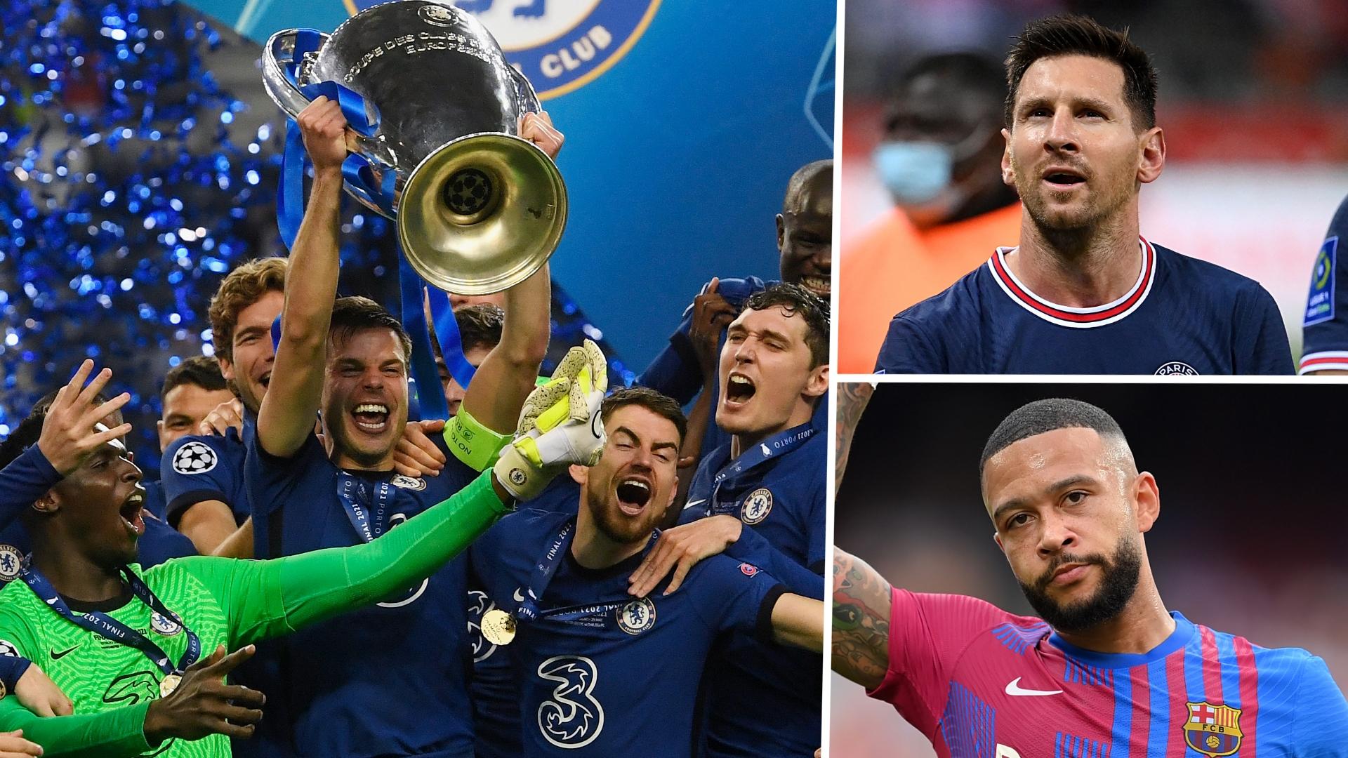 Champions League 2021-22 Power Rankings: Barcelona kick off outside the top 10