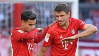Philippe Coutinho Thomas Muller Bayern Munich 2019-20