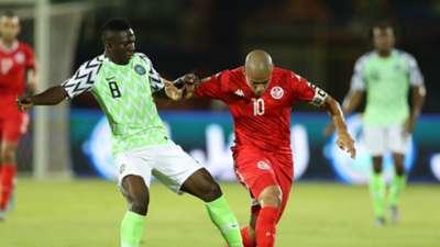 Oghenekaro Etebo, Wahbi Khazri - Tunisia vs. Nigeria
