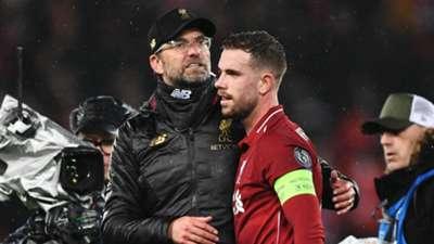 Jurgen Klopp Jordan Henderson Liverpool Bayern