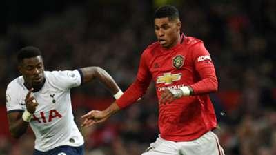 Marcus Rashford Manchester United Tottenham