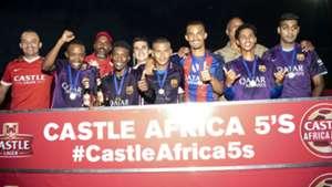 Milano FC win Castle Africa 5s