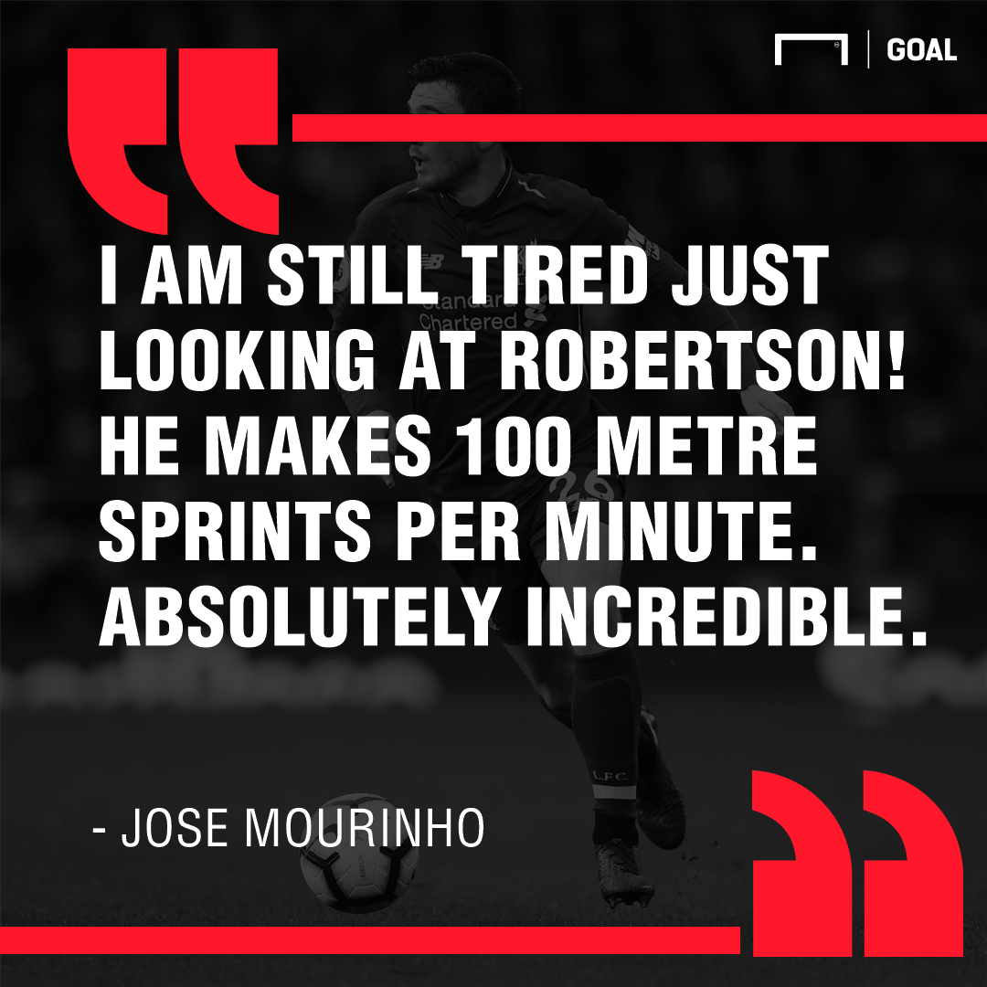 Jose Mourinho on Andy Robertson 2018