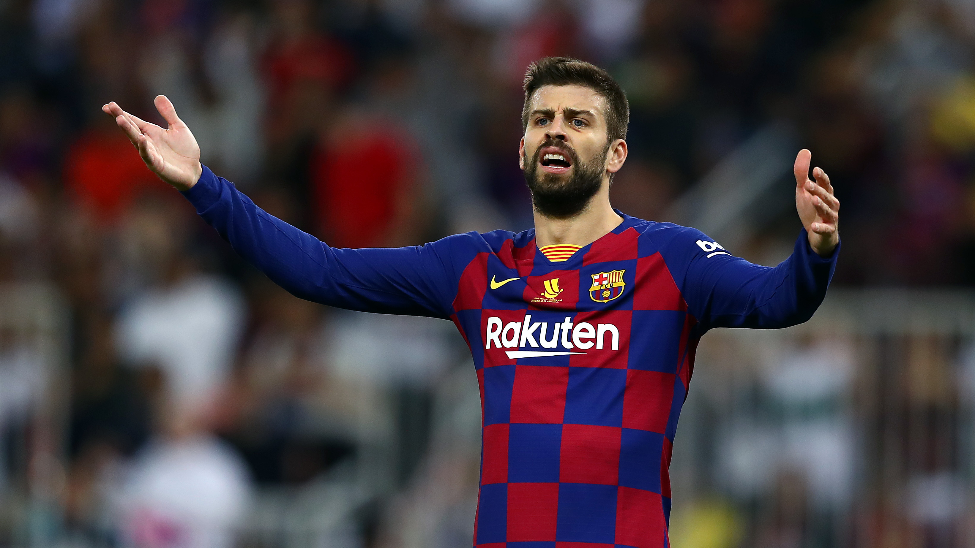 When the club is weak, these things come up' - Pique defends ...