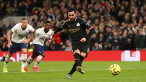 Guardiola says players decide who takes penalties after Man City fluff again against Tottenham