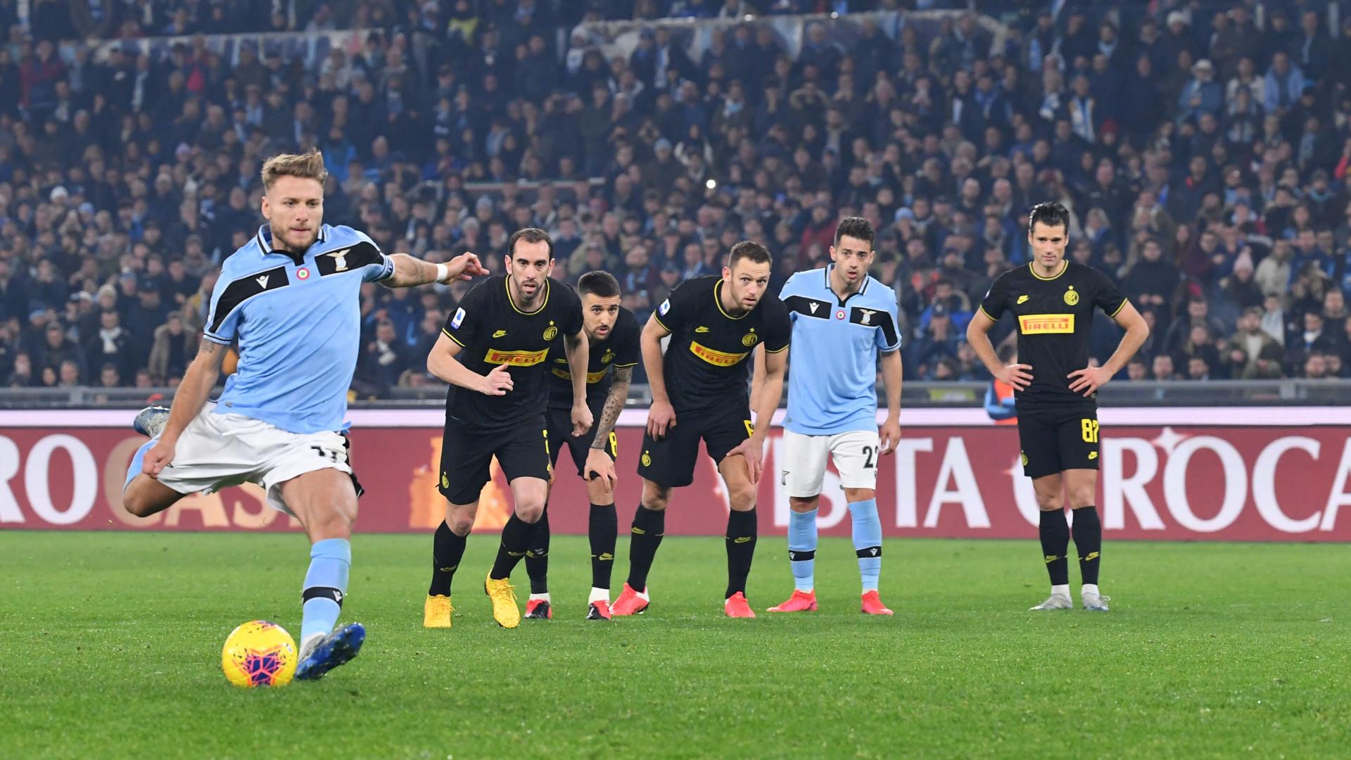 Immobile Lazio Inter Serie A