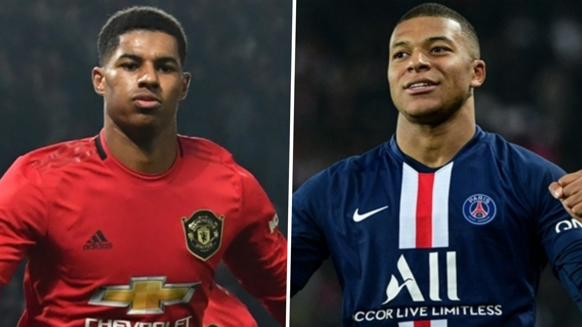 'Rashford is at the same level as Mbappe' - Man Utd star equal to PSG counterpart 'in terms of quality', says Saha