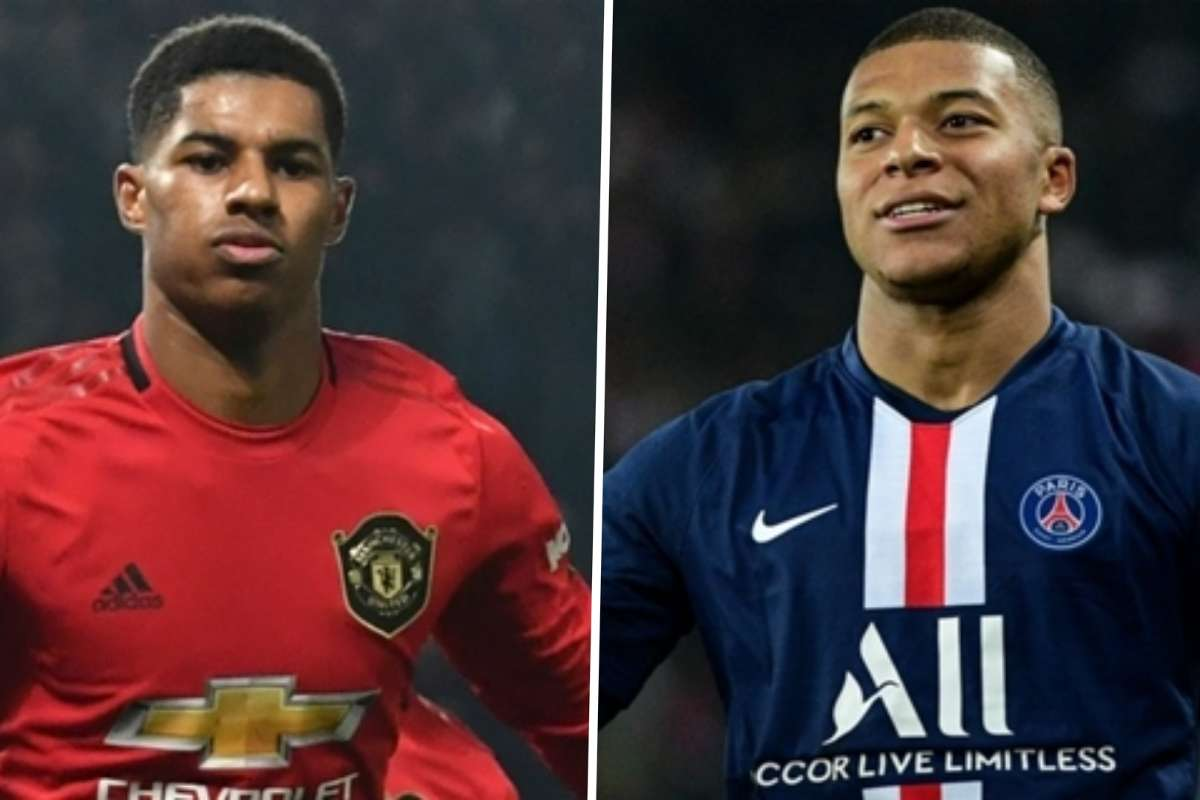 Rashford Is At The Same Level As Mbappe Man Utd Star Equal To Psg Counterpart In Terms Of Quality Says Saha Goal Com