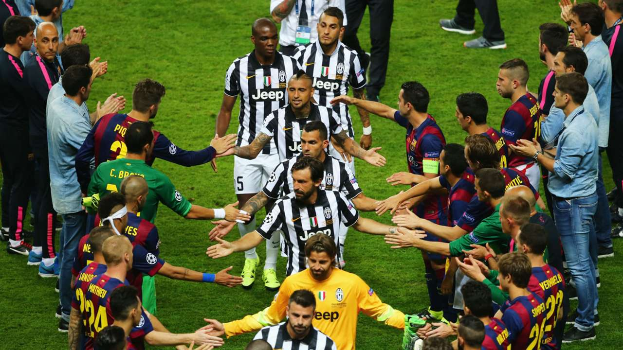 Barcelona Juventus Champions League final 2015