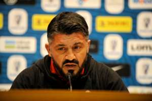 Gennaro Gattuso Juventus Milan press conference