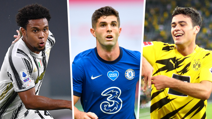 For the first time, U.S. internationals have scored in the EPL, Bundesliga & Serie A on the same day