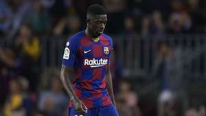 Barcelona need to 'have words' with Dembele after 'silly sending off' costs Clasico place - Rivaldo