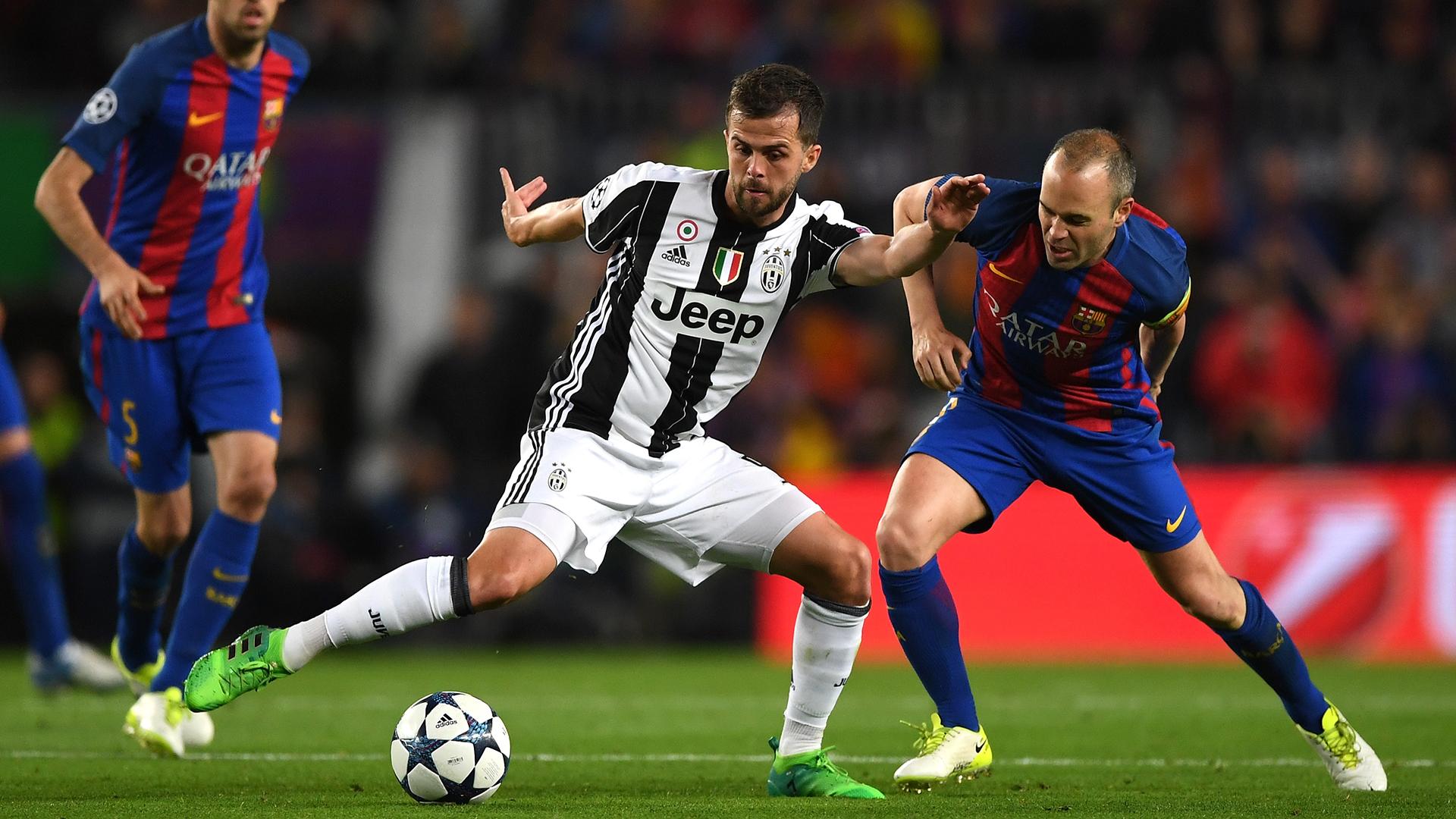 Miralem Pjanic Juventus Barcelona