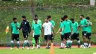 منتخب السعودية في فلسطين تصفيات آسيا لكأس العالم