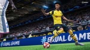Jadon Sancho Dortmund FIFA 20
