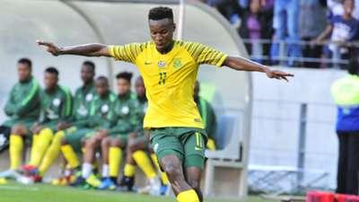 Themba Zwane, Bafana Bafana, October 2019