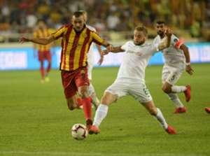 Khalid Boutaib Nejc Skubic Yeni Malatyaspor Konyaspor Super Lig 08/31/18