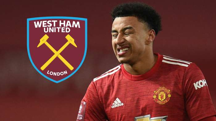Jesse Lingard, Man Utd, West Ham badge