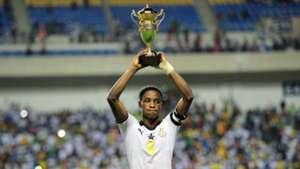 Ghana U17 captain Eric Ayiah