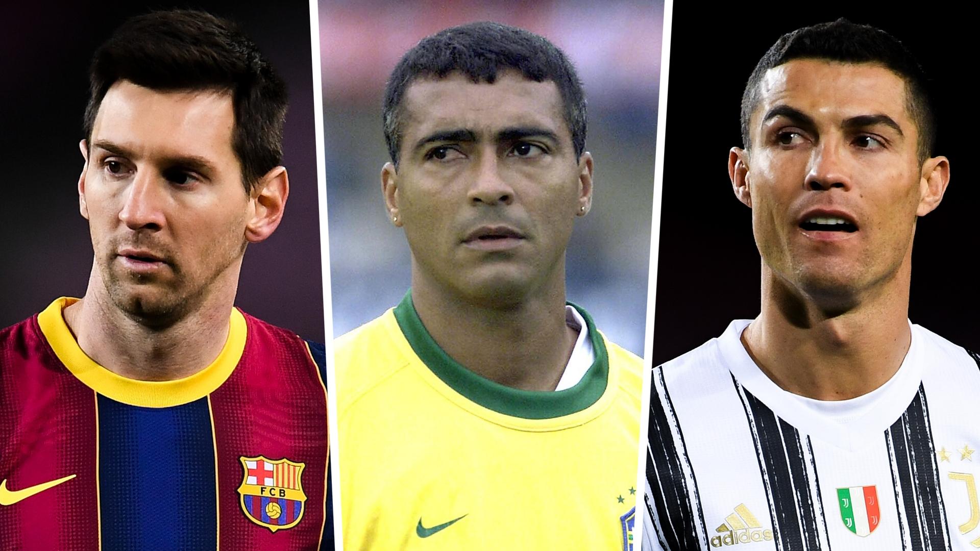 Ronaldo, Messi, Romario - who are the top goalscorers in football history?