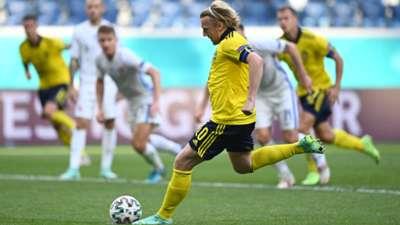 Emil Forsberg Sweden Euro 2020