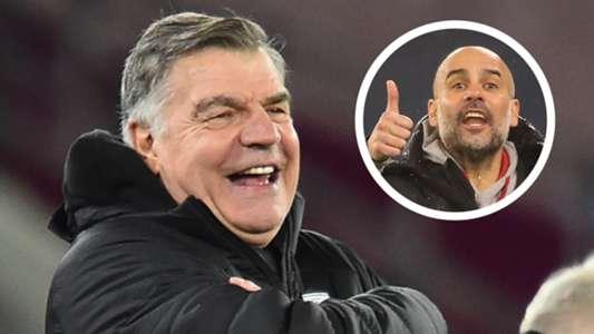 'Allardyce is a genius' – Man City boss Guardiola