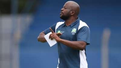 Frank Ouna of KCB coach.