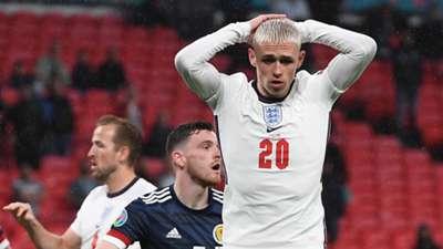 Phil Foden England Scotland Euro 2020