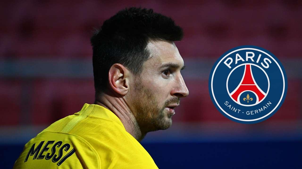 Lionel Messi Barcelona 2020-21 PSG