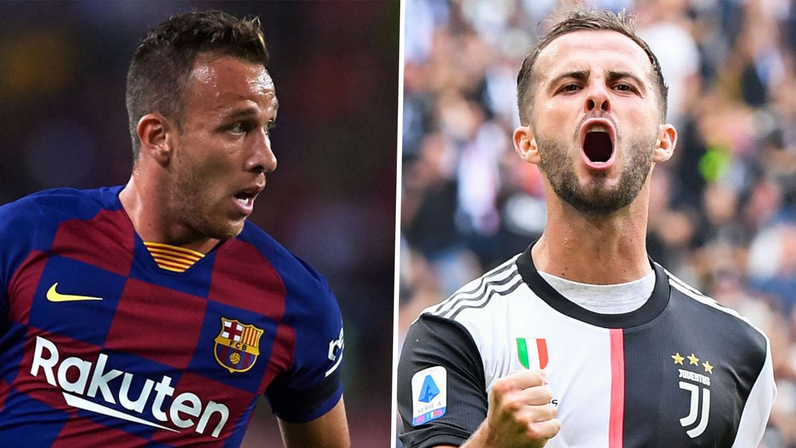 Arthur Melo Miralem Pjanic Barcelona Juventus 2019-20
