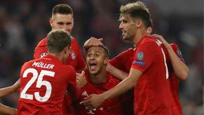 Thomas Muller Thiago Bayern Munchen 2019