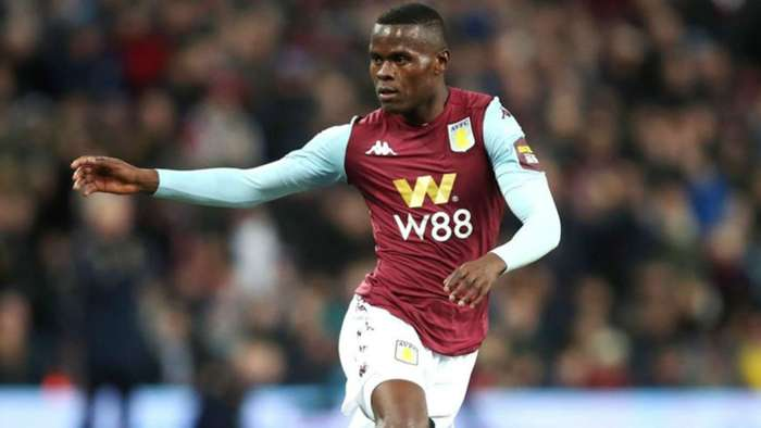 Mbwana Samatta of Tanzania and Aston Villa.