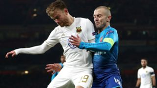 Jack Wilshere Dennis Widgren Arsenal Ostersunds Europa League