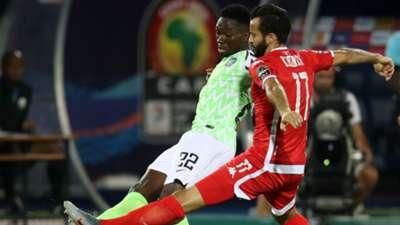 Yassine Khenissi, Kenneth Omeruo – Tunisia vs. Nigeria