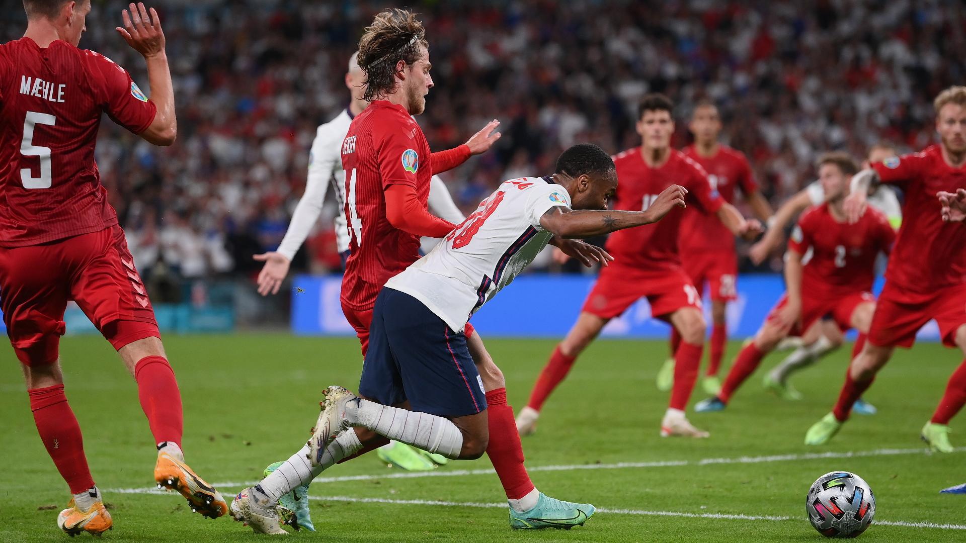 'Absolutely incomprehensible' - Sterling penalty award in Euro 2020 semi-final baffles former FIFA referee Meier